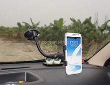 Newest 360 Degree Rotating Smart Phone Car Holde / Flexible Universal Mount Holder Sucker Stand Smartphone Car Holder