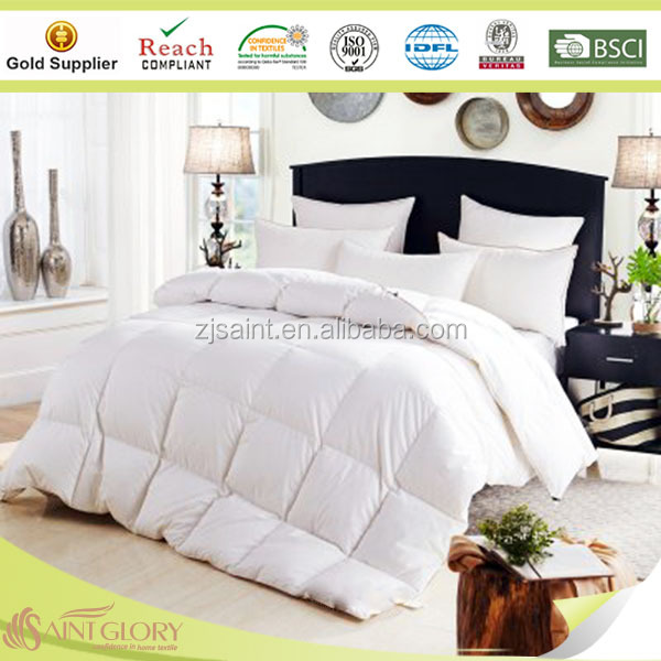 Luxury 100% cotton fabric high quality microfiber quilt/comforter/duvet