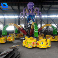 Newest Thrill Funfair Rides Attraction Outdoor Games Big Octopus Rides For Sale