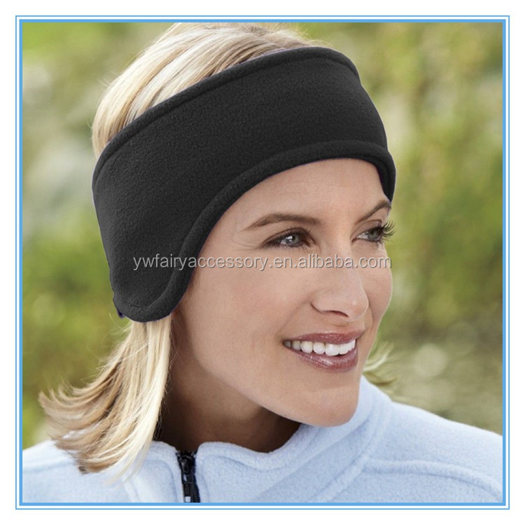 Fashion Outdoor Ponytail Headband Fleece Ear Warmer Headband - Buy ... e57487a906d
