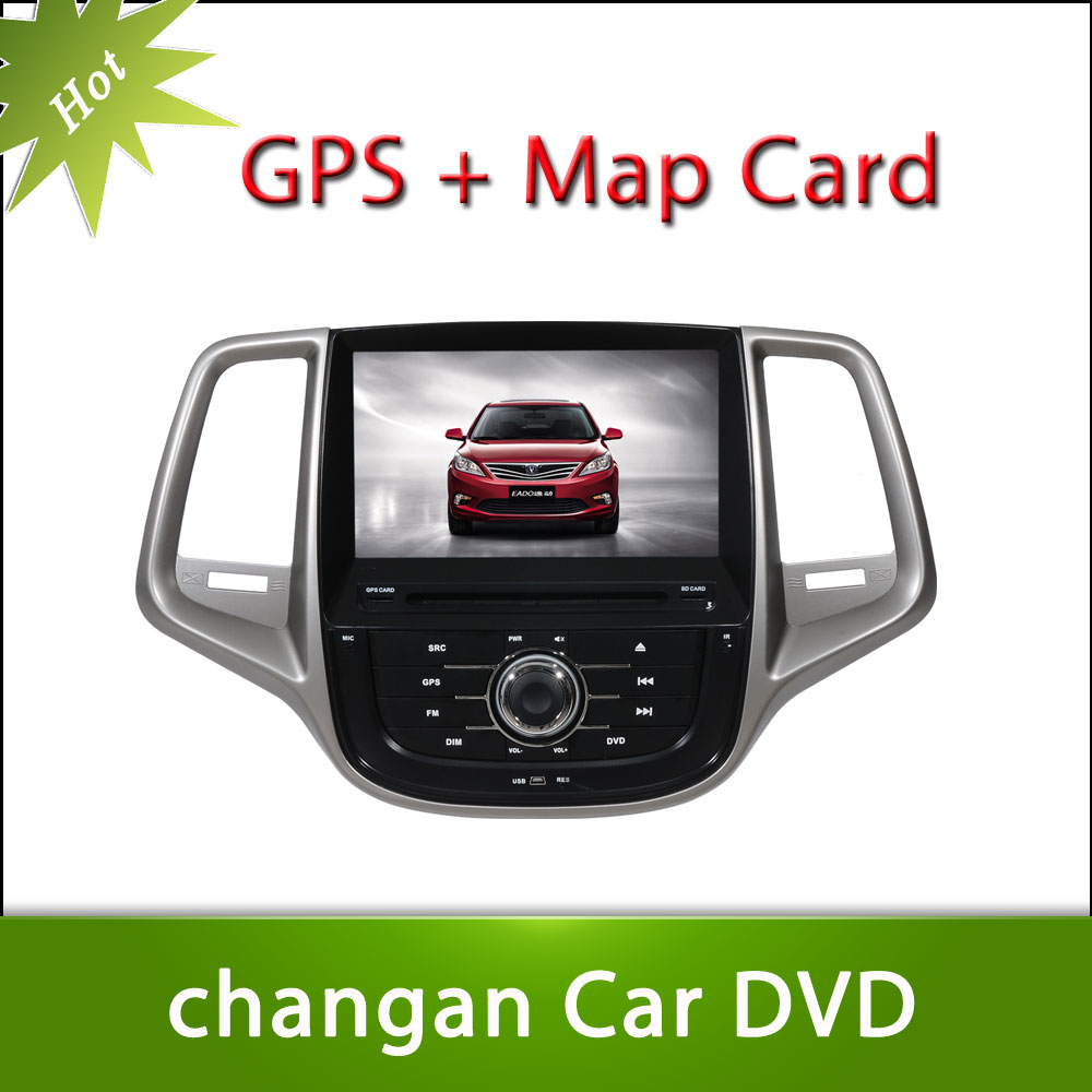 Hot 8inch Changan EADO Car DVD GPS Player Car Stereo Navigation Radio Audio Bluetooth A2DP Steering Wheel Control
