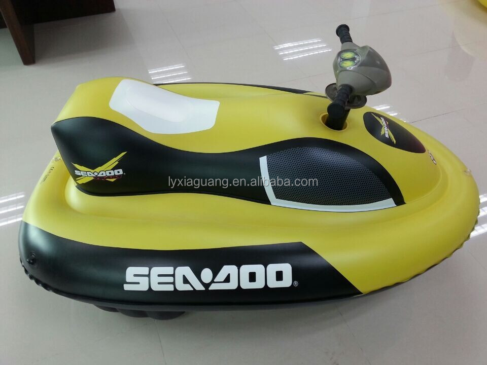 Funny inflatable cheap used jet skis boat for kids