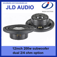 Best Design flat 12inch subwoofer 200w powered Car Subwoofer Speaker For Car Sound
