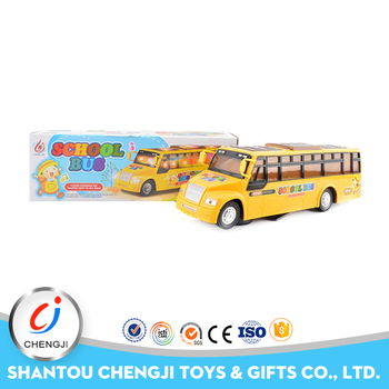 2017 most popular big play yellow school bus toy for kids