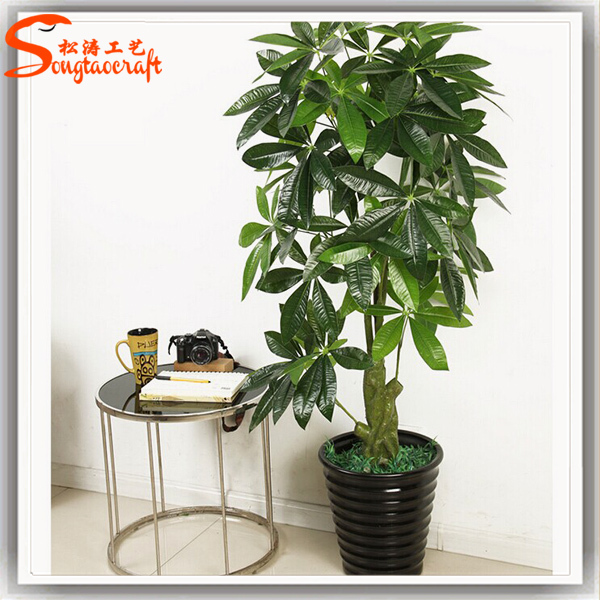 All types of decorative indoor plants plastic plants for Home decor with plants