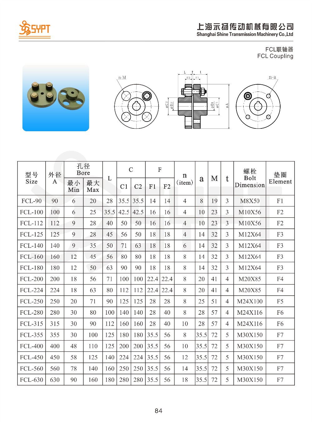 Flexible Fcl Pin Bush Couplings For Shaft Connection Buy Fcl Pin Couplings Pin Disc Coupling Pin Bush Coupling Product On Alibaba Com