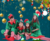 Family Party Dresses Wear Father Dance Adult Cosplay Xmas Costume Kids Women Christmas Elf Dress