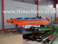 Fully automatic folding and slitting machine