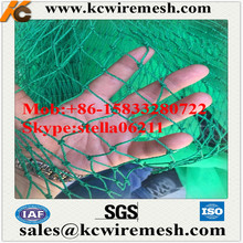 Factory!!!!!!!! Nylon/PE Knotted Fishing Net for sport ball nets/tennis court fence netting