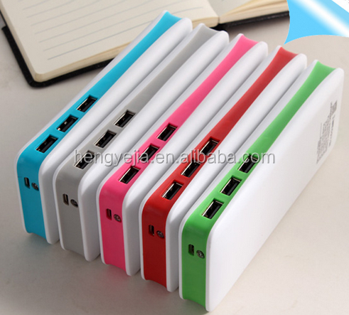 2016 Newest high quality wholesale factory price power bank 25000mah 3 usb for philips