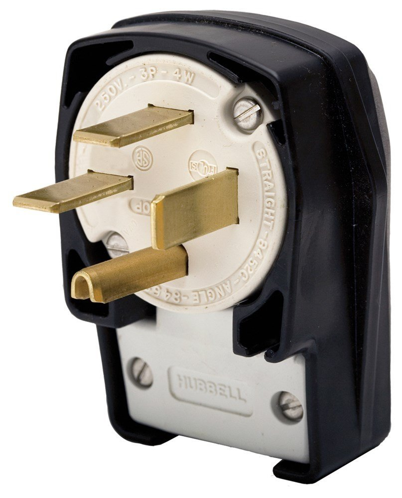 Buy Hubbell Hbl8452c Ac Plug Nema 15 50 Male Angled In Cheap Price Wiring A