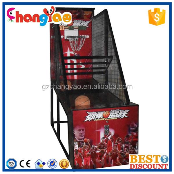 nios juego de baloncesto de la calle del parque de diversiones bajo techo mquinas