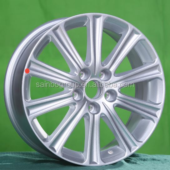 Silver paint 17X7 vehicle alloy wheels