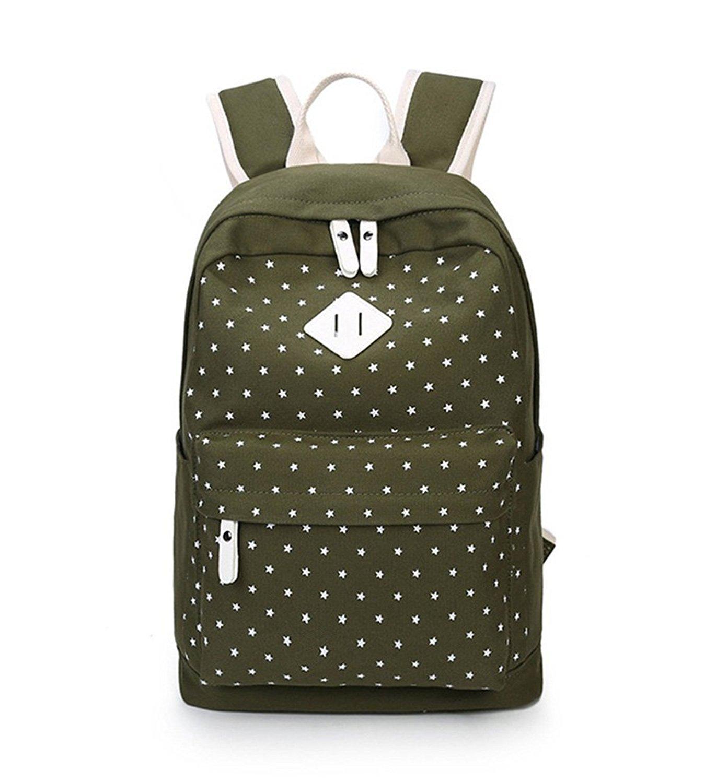 Fueken Canvas Laptop Cute Backpacks for Teen Girls Back Packs School Book  Bags 59b8464937