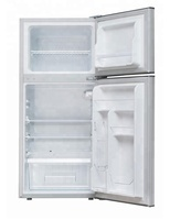 128L double doors Top freezer refrigerated refrigerator BCD-127