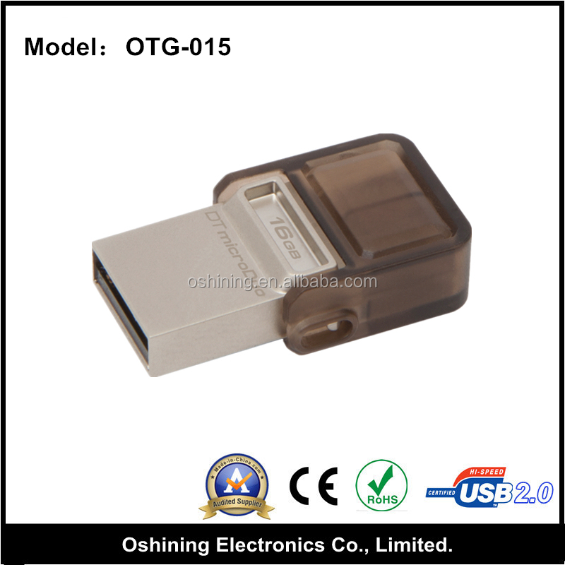 Wholesale Cheap Metal Mobile Phone USB Flash Drive for Kingston ( OTG-011 )