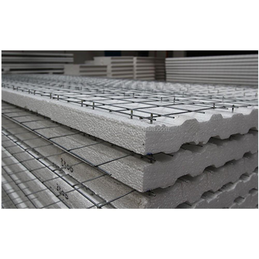Eps 3d Panel : Building construction material wave shape d eps wire mesh