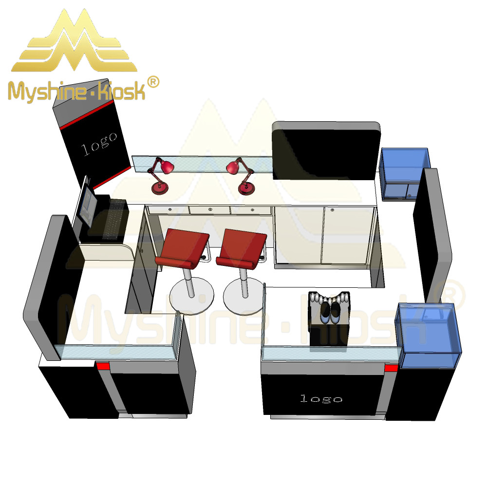 Shopping Mall Phone Kiosk for Mobile Phone Accessories Electronics Accessories