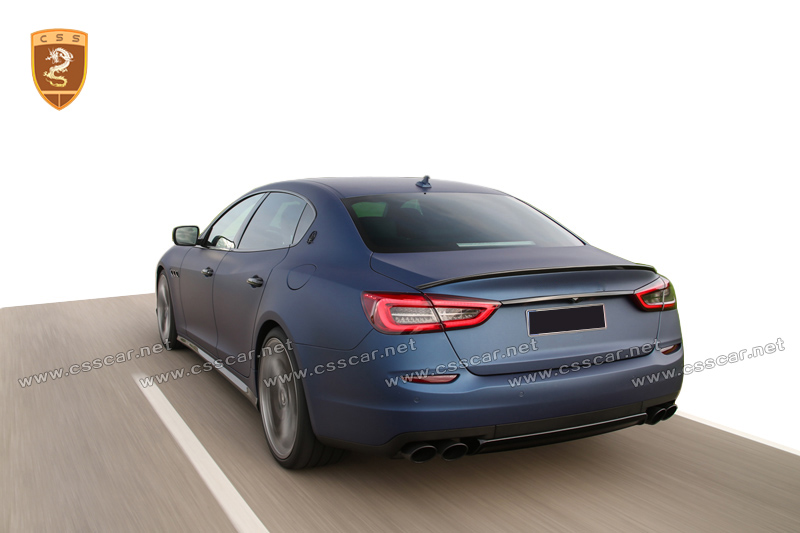 Auto body parts Carbon fiber spoiler for Maserati Quattroporte
