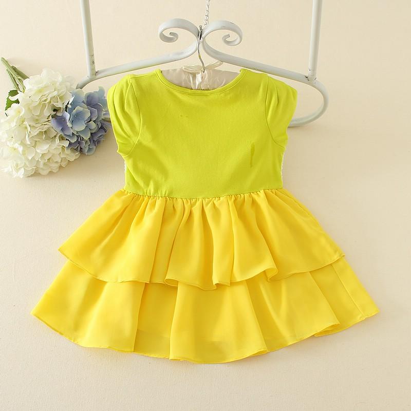 5baddcec5d31 wholesale Indian kid clothing Purple summer 3 year old nighty one piece  dress cute baby girls