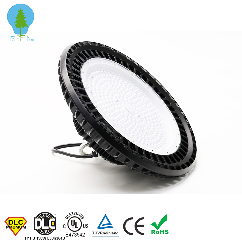 Shenzhen China IP65 100w 120w 150w Led UFO High Bay Light