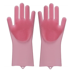 China Factory Directly Sell silicon baking bbq glove heat resistant gloves