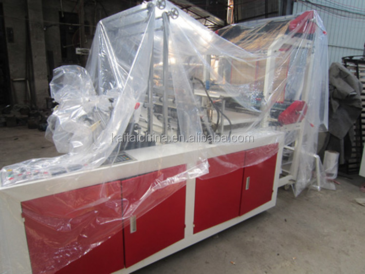 high speed cool cutting bag making machine