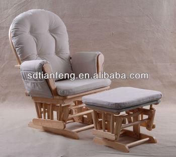 Sedia Dondolo Per Allattamento.Baby Allattamento Sedia A Dondolo Con Pouf Buy Aliante Antico