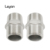 "316 Stainless Steel Reducing Hexagon Nipples Hex Nipple 1/2"" Male NPT Stainless Steel Pipe Fitting"