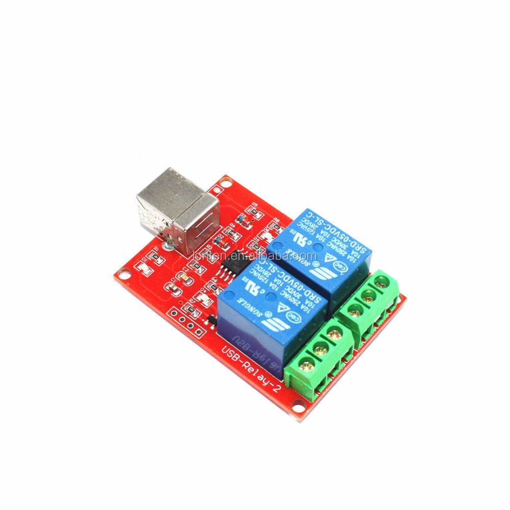5V USB Relay 2 Channel Programmable Computer Control For Smart Home New