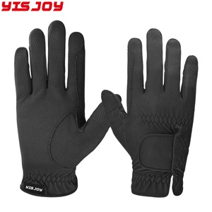 Custom made new horse riding gloves professional equestrian gloves supplier