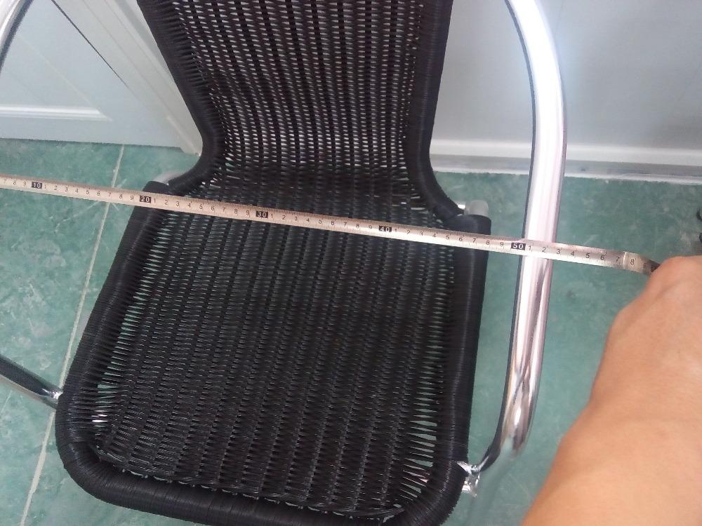 Rotan Stoel Zwart : Outdoor stapelen aluminium rotan stoel zwart buy china zwart rotan