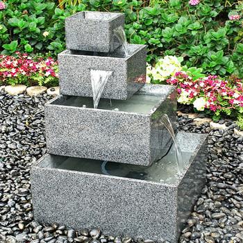 Granite Outdoor Modern Water Fountain