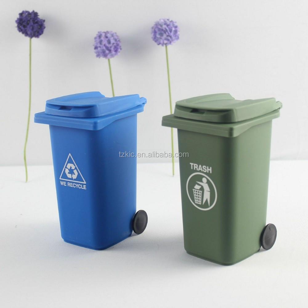 pen crayon pot holder papeterie container mini poubelle. Black Bedroom Furniture Sets. Home Design Ideas