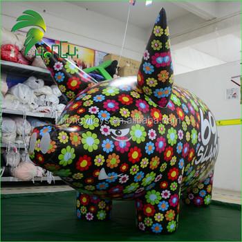 Comercial Decoración Animal Aire Carroza De Cerdo Al Aire Libre Modelo Para La Venta Buy Flotador Inflable De Cerdobola De Aire De Cerdocerdo