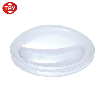 "3 1/8"" 80mm 5X plano convex lens / Acrylic optical lens"