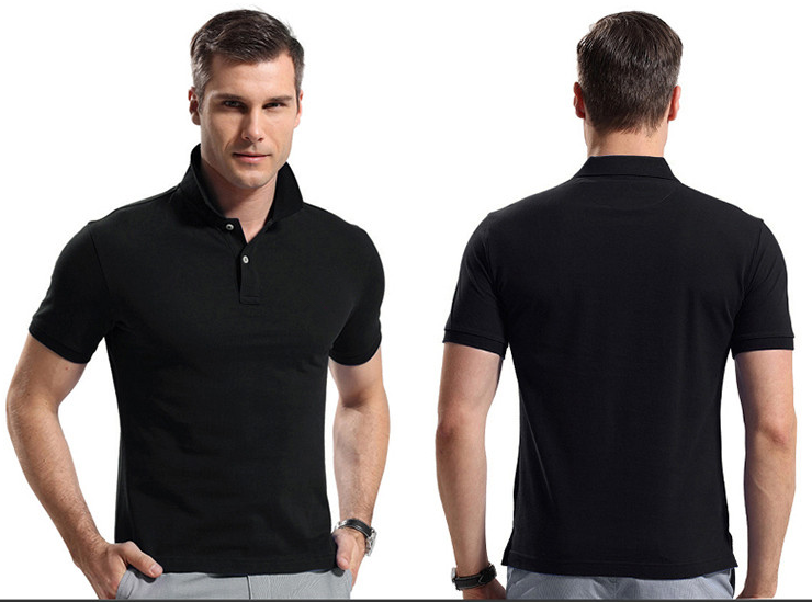 Golf Shirts For Men Polo 6XL 100% Cotton Polo Shirts Wholesale Apparel
