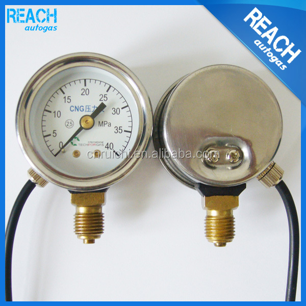 manufacture engine system fuel pressure gauge for car