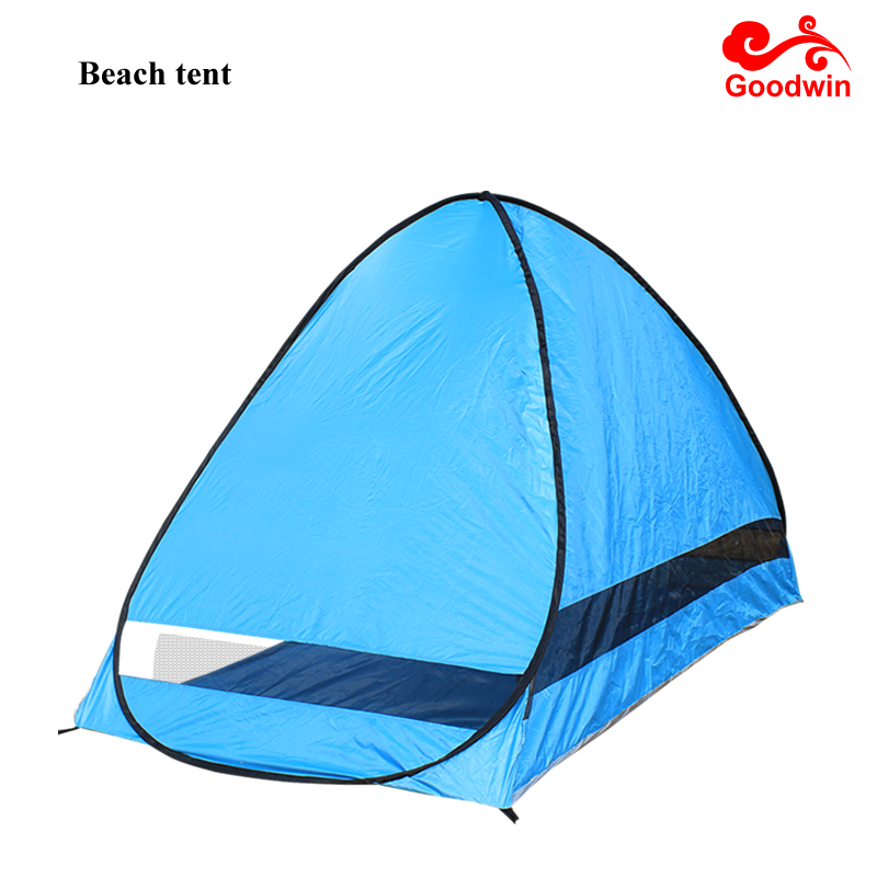 Beach Tent CoolHut Beach Umbrella Sun Shelter Instant Portable Cabana Shade Outdoor Pop Up Anti-UV 50+ Lightest & Most Stable