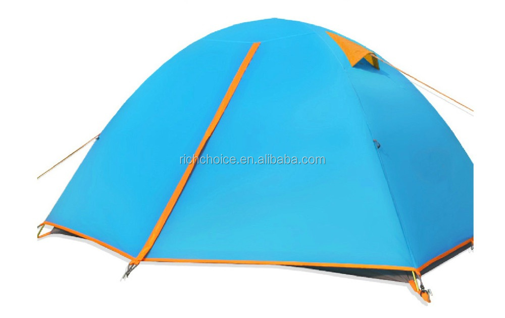 Double layer 2 person camping tent