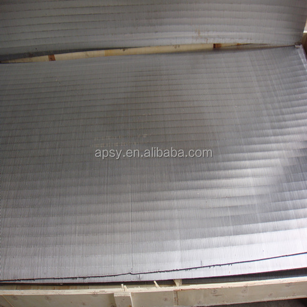 stainless steel wedge wire johnson screen mesh