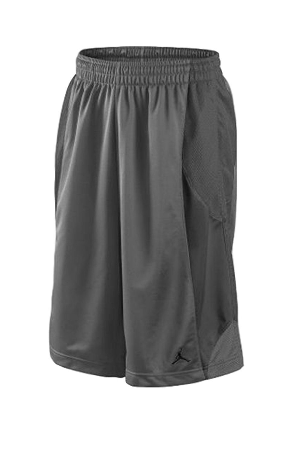 e7dd91796011b7 Buy Nike Mens Air Jordan Durasheen Jumpman Basketball Shorts Gray in ...