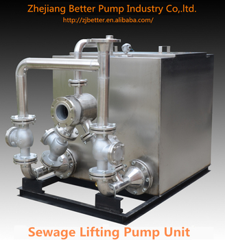 Durable Residential Basement Sewage Lift Pump System