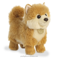 Youth Gifts 2018 wholesales customized brown dog talking plush toy