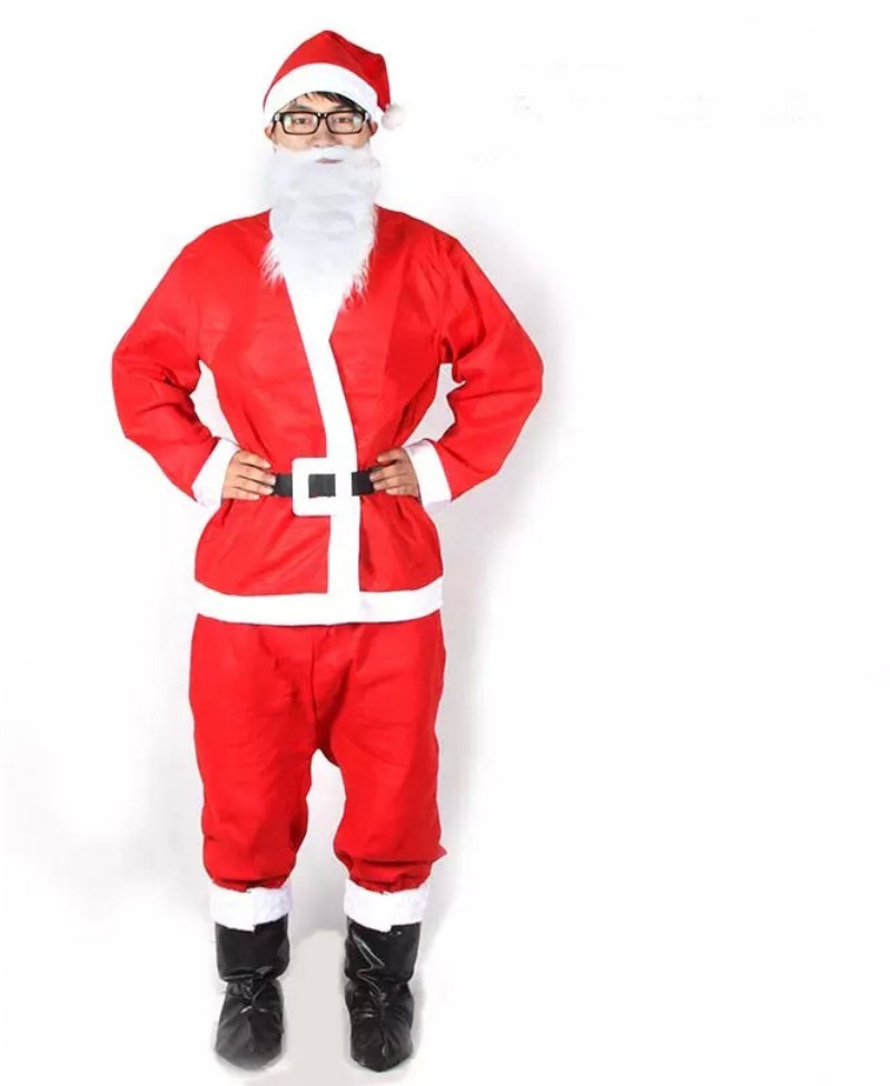 russia christmas santa claus costume cosplay santa claus clothes fancy dress in christmas ms men 5pcslot costume suit for adult buy christmas santa claus