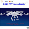 Top quality hot sale! Drone Cheerson CX20 Remote Control AUTO-Pathfinder Aircraft FPV RTF& GPS big fly shark