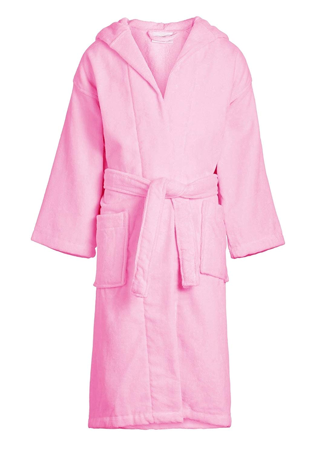 58891c0548573 Get Quotations · ELEGANI Kids Terry Velour Hooded Robe, Terry Cloth Kids  Hooded Robe Bathrobe for Boys and