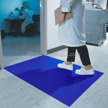 Ldpe Disposable Walk Off Laboratory Blue Sticky Mat Buy