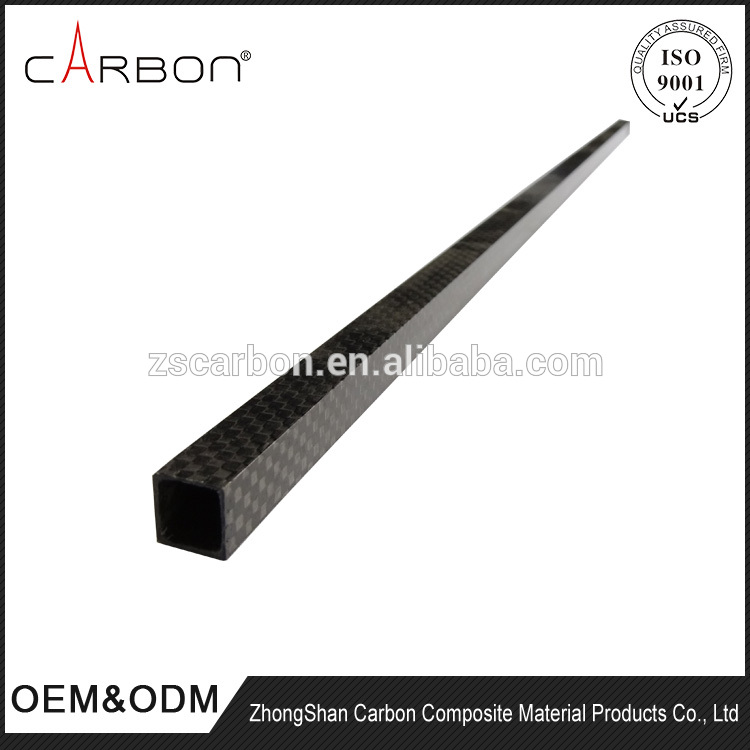 High quality SGL carbon square tubes USA standard