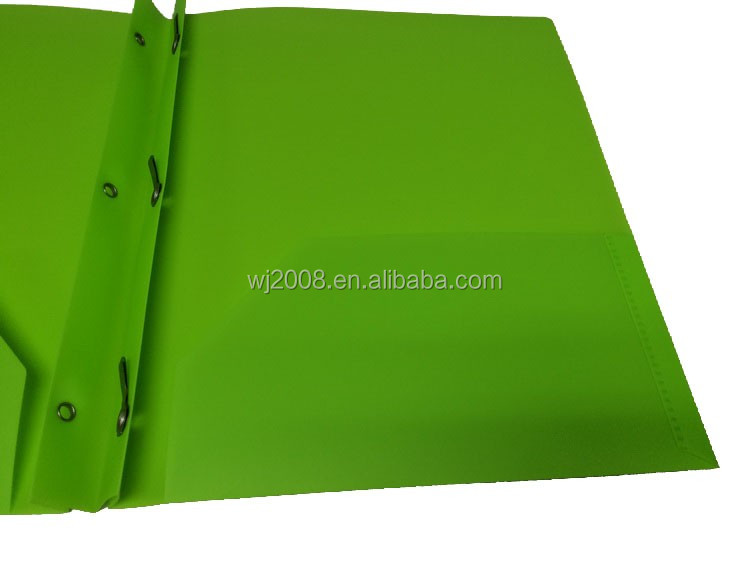 poly portfolio 3 prongs pocket folders for us markets